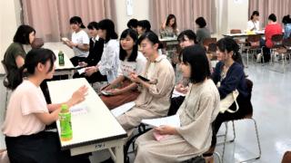 <ふじみ野キャンパス>児童発達学科 OBOG就職相談会開催