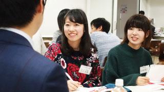 <本郷キャンパス> 【就活交流会~人事担当者との語らい~】を開催しました!